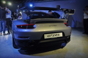 Porsche 911 GT2 RS Rear View, Malaysia 2018