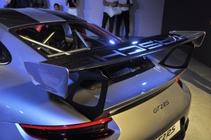 Porsche 911 GT2 RS Rear Wing, Malaysia Launch 2018