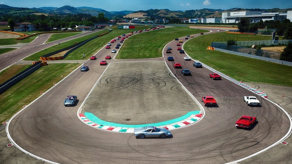 5_Ferrari Dino 50 years celebration track drive - Maranello, Italy