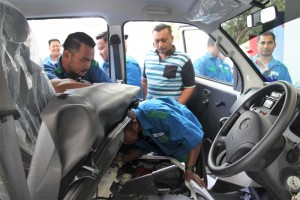 Daihatsu Gran Max, Indah Water Konsortium, Training, Malaysia 2018