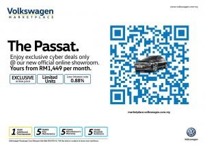 Volkswagen Marketplace, VW Passat Trendline Cyber, Malaysia
