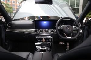Mercedes-Benz E300 AMG Line Dashboard, Malaysia 2018
