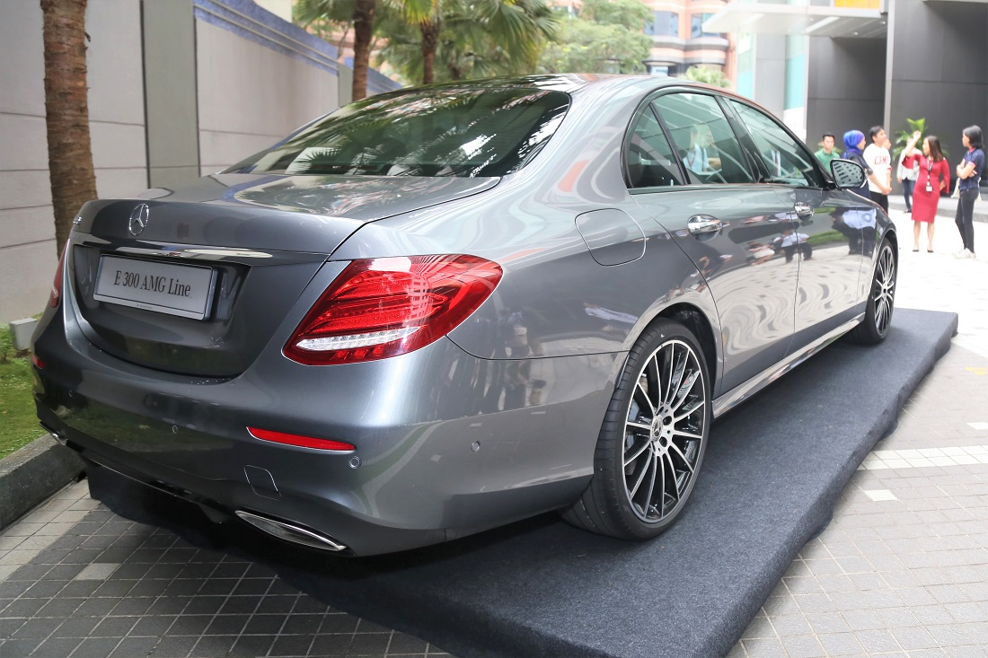 Mercedes Benz Malaysia Introduces The E 300 Amg Line To
