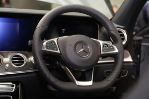Mercedes-Benz E300 AMG Line, Steering Wheel, Malaysia 2018