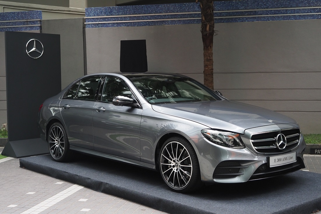 Mercedes Benz Malaysia Introduces The E 300 Amg Line To Lead E Class
