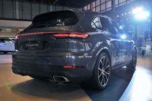 Porsche Cayenne Rear View, Malaysia Launch 2018