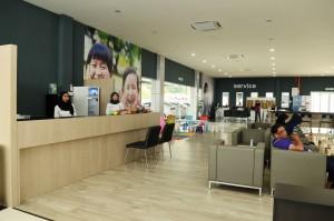 Proton 3S, Pantai Bharu Corporation, Customer lounge area - Jalan Kapar, Klang 2018