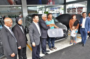 Proton 3S Outlet Jalan Kapar, Pantai Bharu Corporation, Vehicle Delivery Bay