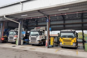 Scania Malaysia Port Klang, Servicing Area, P410, G410 Trucks