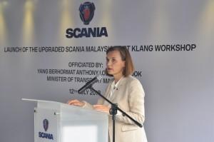 Scania Malaysia Port Klang, Marie Sjödin Enström