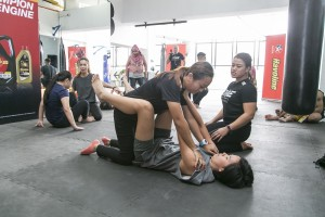 Caltex Havoline, ONE Championship, Self-defense Workshop for Riding Pink, Malaysia