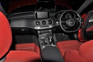 Kia Stinger GT Interior, Naza Kia Malaysia