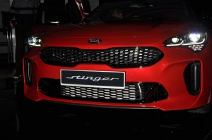 Kia Stinger GT Front Close Up, Naza Kia Malaysia Launch