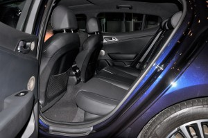 Kia Stinger GT-Line Rear Seats, Malaysia