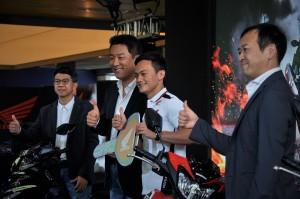 Honda Dash 125 Ambassador Zaqhwan Zaidi, Keiichi Yasuda, Boon Siew Honda, Malaysia