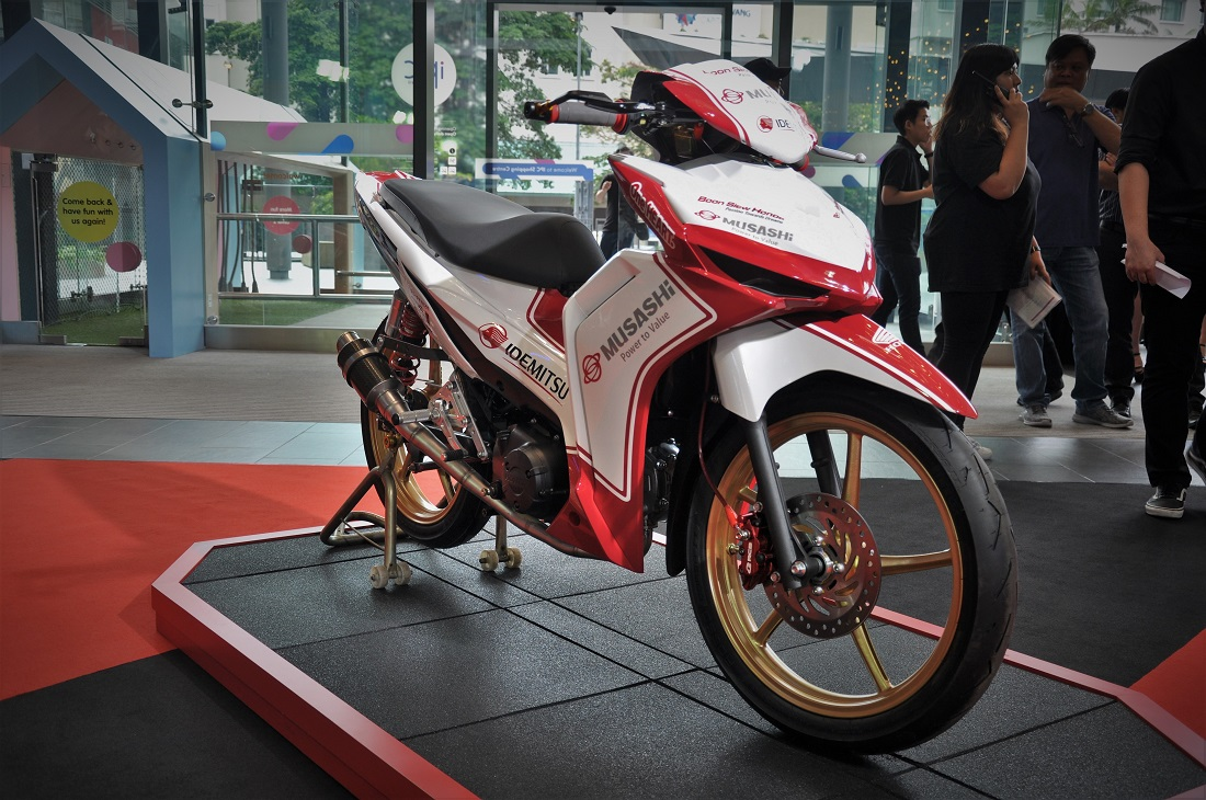 Boon Siew Honda Launches New Dash 125 Motorcycle Priced From Rm5