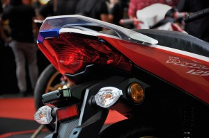 Honda Dash 125 Rear Lights Close Up, Malaysia, Boon Siew Honda