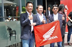 Honda Dash 125 Launch, Flag-off, Keiichi Yasuda, Boon Siew Honda