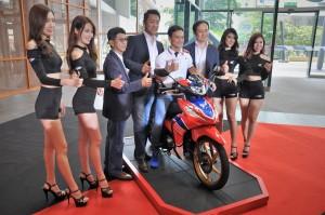 Honda Dash 125, Zaqhwan Zaidi Ambassador, Keiichi Yasuda, Boon Siew Honda Malaysia
