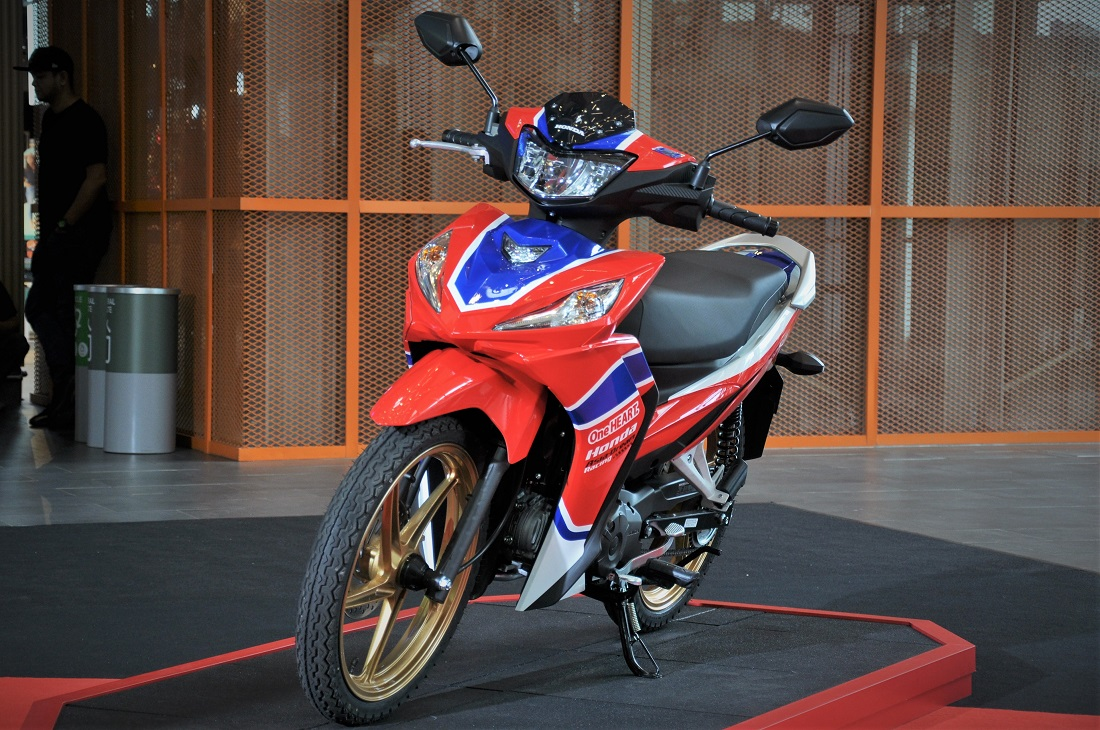 Boon Siew Honda Launches New Dash 125 Motorcycle Priced From Rm5 999 Autoworld Com My