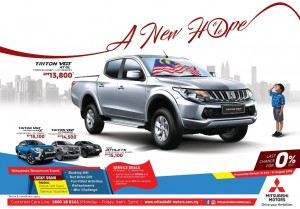 Mitsubishi Motors Malaysia Merdeka 2018 Promotions, A New Hope