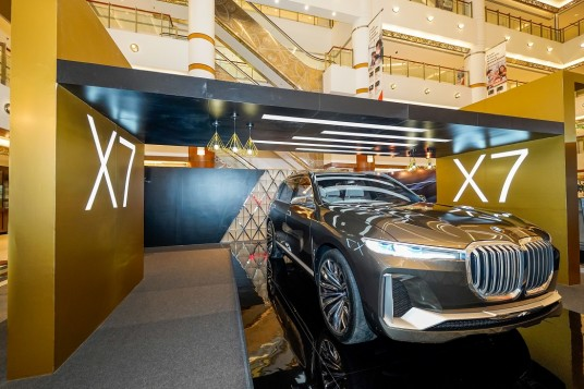 BMW Group Malaysia Shows Off Concept X7