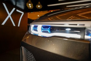 The BMW Concept X7 iPerformance (9) - Laserlights, BMW X Range Roadshow, BMW Group Malaysia 2018