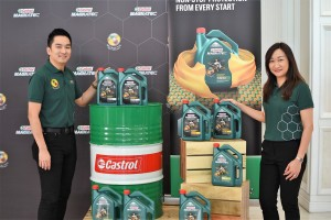 Castrol Magnatec with Dualock Technology, Malaysia Launch, Joshua Tan & Keow Mei-Shan