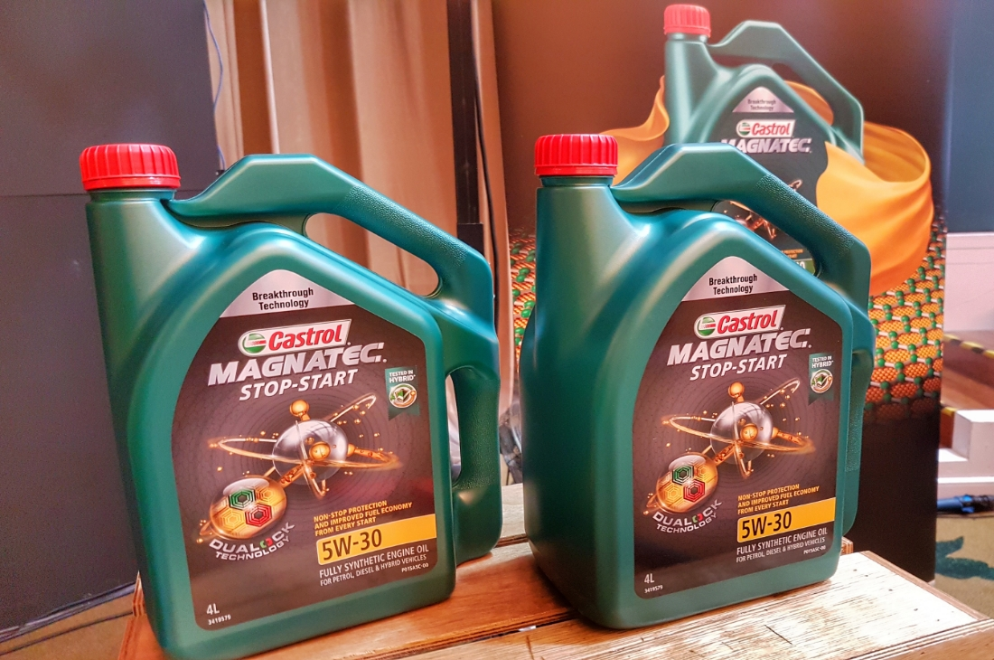 Castrol Magnatec With Dualock Technology Launched In Malaysia Stop Start 5w 30 Engine Oil 2018