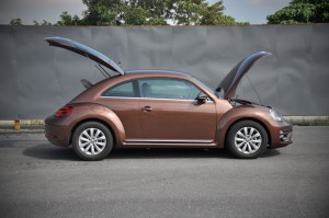 Volkswagen Beetle 1.2L, Side View, Open, Malaysia