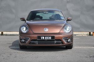 Volkswagen Beetle 1.2L Sport, Front View, Malaysia