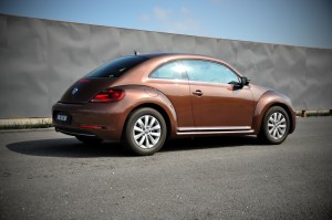 Volkswagen Beetle Rear Three Quarter, Malaysia