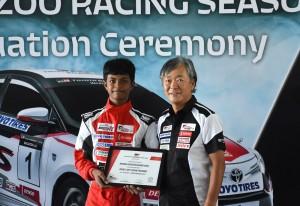 Toyota Gazoo Racing Grad _ Hayden _ Takeyama-san - Vios Challenge Racing School 2018, Malaysia