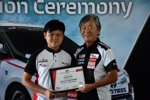 Toyota Gazoo Racing Grad _ Oscar _ Takeyama-san - Vios Challenge Racing School, Malaysia 2018