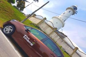 Proton 1 Tank Adventure, Persona 1.6 CVT, Bukit Melawati Lighthouse, Malaysia
