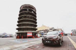 Proton 1 Tank Adventure, Teluk Intan Leaning Tower, Malaysia