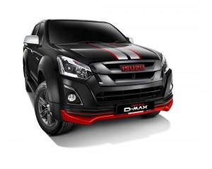 Isuzu D-Max X-Series, Limited Edition, Front, Stallion Black Metallic, Malaysia