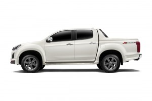 Isuzu D-Max X-Series, Limited Edition, Side View, Silky Pearl White, Malaysia