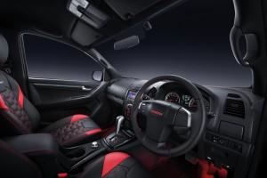 Isuzu D-Max X-Series Limited Edition Interior, Malaysia
