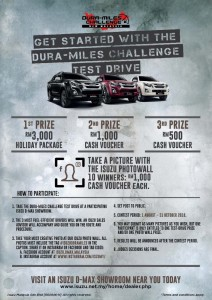 Isuzu D-Max Dura-Miles Challenge 2018, Malaysia, Details