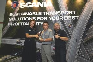 Pic 6 Scania Malaysia Fleet Management System FMS Contest Winner, Ekspres Seni Budaya, Scania Butterworth