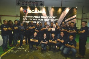 Pic 7 Scania Butterworth Team, Malaysia