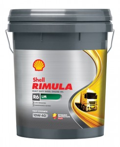 Shell Rimula R6 LM with API CK-4 specification, Malaysia