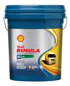 Shell Rimula R5 LE with API CK-4 specification, Malaysia