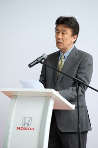 Mr Toichi Ishiyama, MD and CEO of HMSB, speech, official launch of MJN Motors Honda 3S Centre, Malaysia