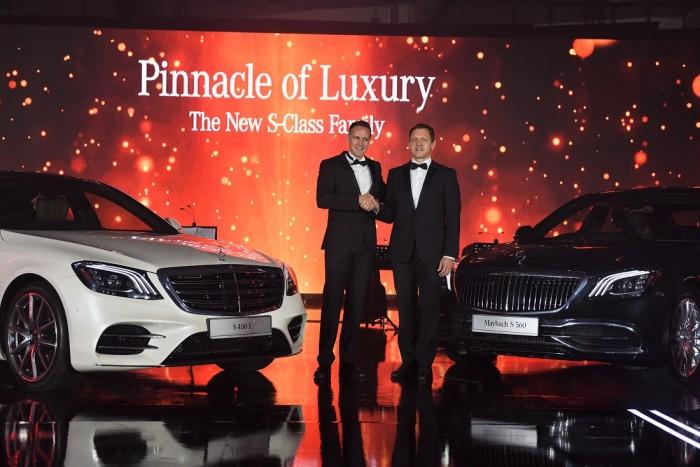 Mercedes Benz Malaysia Introduces Flagship S Class Saloons