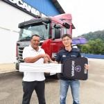 Scania Malaysia, Truck Handover to Hin Tatt Recycling Sdn Bhd, Kuantan