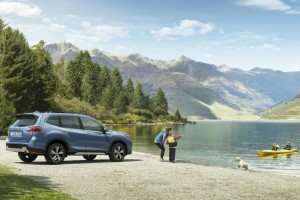 Subaru Forester Outdoors, Launch