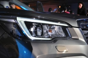 Subaru Forester LED Headlamp, Taiwan Launch 2018