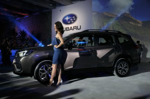Subaru Forester Launch, Taiwan 2018